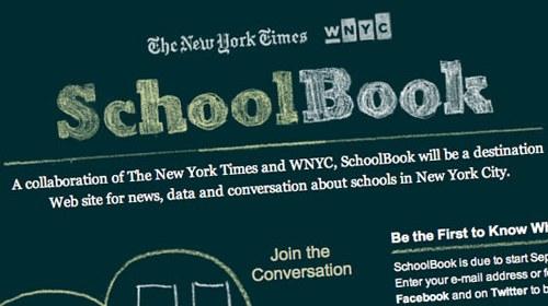 SchoolBook, información colaborativa sobre educación participada por The New York Times
