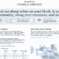 """Crime In Chicago"", periodismo de datos desde el Chicago Tribune"