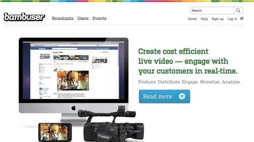 Bambuser ofrece un servicio premium gratuito a los periodistas ciudadanos
