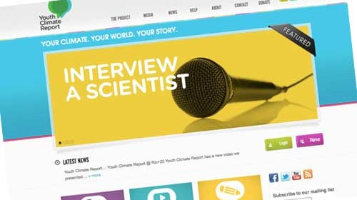 Youth Climate Report: periodismo crowdsourced contra el cambio climático