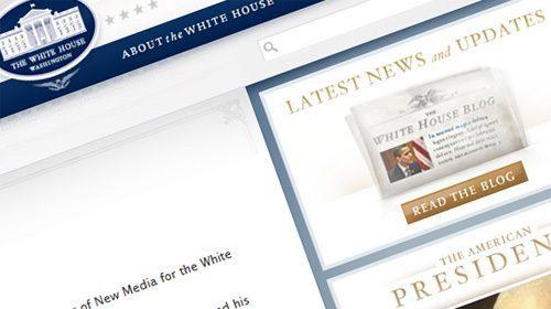 Whitehouse.gov, la web oficial de Obama convierte la participación ciudadana en una prioridad de su Gobierno