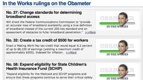 "Las 510 promesas de Obama serán vigiladas desde ""Obameter"""