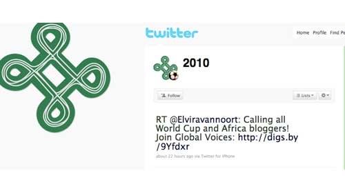 Periodismo ciudadano en la Copa Mundial de Fútbol 2010