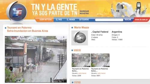 """""""TN y la Gente"""" convoca el Premio Mario Mazzone de Periodismo Ciudadano 2010"""