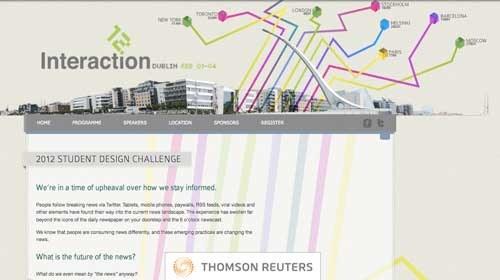 """Interaction12: Un concurso para """"diseñar el futuro de las noticias"""""""