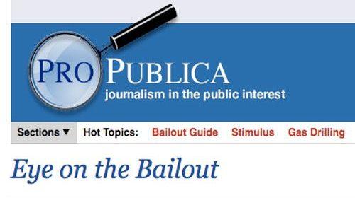 ProPublica inicia una investigación ciudadana sobre el Plan de Estímulos de Obama