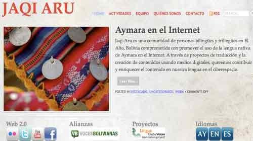 Jaqi Aru: Periodismo ciudadano en lengua Aymara desde El Alto de Bolivia