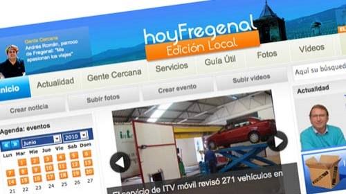 HoyFregenal: periodismo ciudadano desde Extremadura