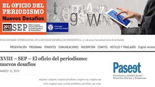 'Los nuevos desafíos del oficio del Periodismo' a debate en el SEP