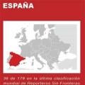 España sube tres puestos en el ranking de libertad de prensa de RSF pese a sus deficiencias