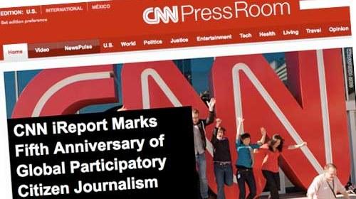 iReport: 5 años apostando por el periodismo ciudadano en la CNN
