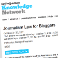 The New York Times programa un curso sobre leyes para bloggers