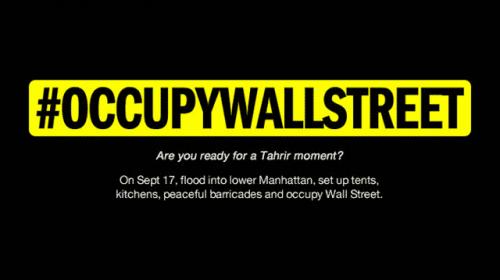 El movimiento #OccupyWallStreet y la relevancia del periodismo ciudadano en las democracias