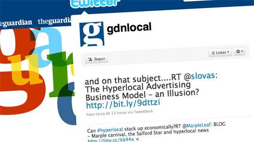 Guardian Local llega a Twitter para conectar con los bloggers locales