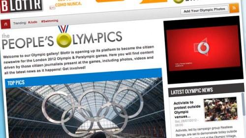 The People's Olym-Pics, periodismo ciudadano en los Juegos Olímpicos de Londres 2012