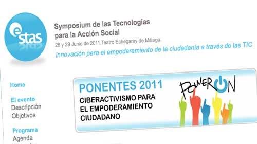 """e-STAS 2011: """"Ciberactivismo para el empoderamiento ciudadano"""""""