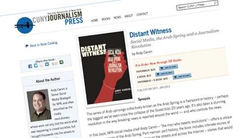 """""""Distant Witness"""": un libro imprescindible del hombre que tuiteó la Primavera Árabe"""