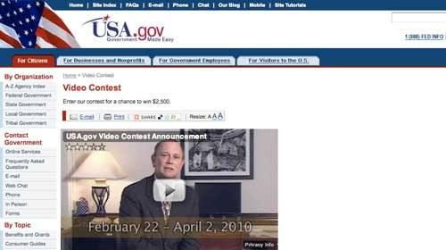 Gana 2.500$ acercando el Gobierno de los EE.UU a los ciudadanos