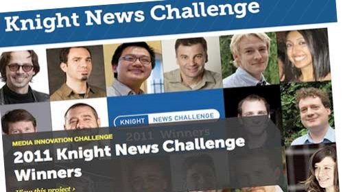 16 proyectos ganadores en la Knight News Challenge 2011 a la innovación periodística