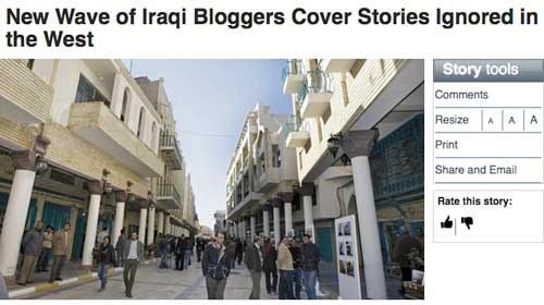 Los bloggers iraquíes se convierten en una fuente de información cada vez más importante