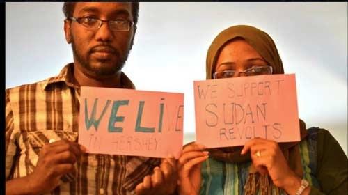 Blogueros y activistas principales objetivos del gobierno durante las #SudanRevolts