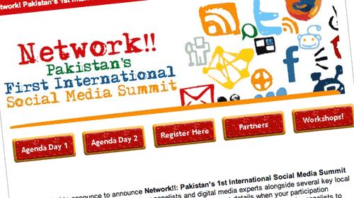 Network!!: 1er Encuentro Internacional sobre Medios Sociales en Pakistan