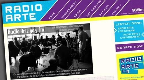 Radio Arte: de las ondas de Chicago a la emisión online