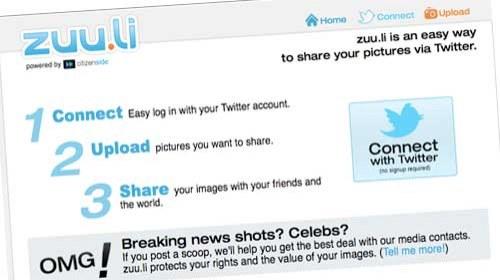Citizenside crea Zuu.li para promover el trabajo remunerado de los fotógrafos ciudadanos