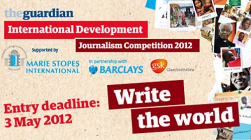 The Guardian convoca la International Development Journalism Competition 2012