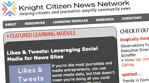 Likes & Tweets, una guía de uso de los medios sociales de Knight Citizen News Network