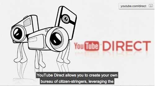 """""""YouTube Direct 2.0"""": El canal de periodismo ciudadano de Youtube, mejorado"""