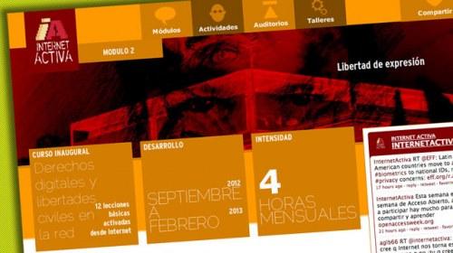 """""""Libertad de expresión"""", próximo tema en el seminario online de Internet Activa"""