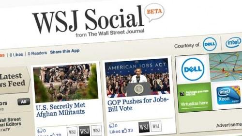 Wall Street Journal se hace más social con WSJ Social