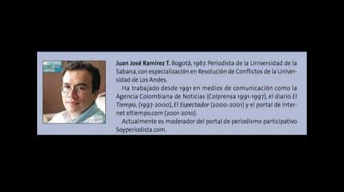Juan José Ramírez y Soyperiodista: periodismo ciudadano y medios tradicionales en Colombia