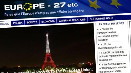 27etc, hacia un periodismo ciudadano europeo