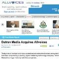 Datran Media adquiere la plataforma de periodismo ciudadano Allvoices
