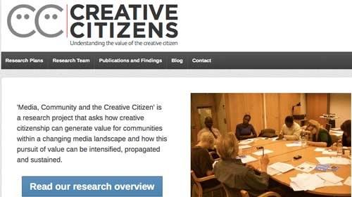 Creative Citizens: creatividad ciudadana en beneficio de la comunidad