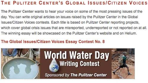 Global Issues/Citizen Voices: Los Pulitzer del periodismo ciudadano