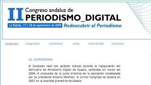 """""""Redescubrir el periodismo"""" en el II Congreso Andaluz de Periodismo Digital"""
