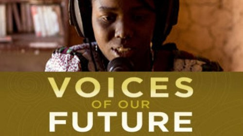 Termina el plazo de solicitudes para el programa Voices of Our Future 2011