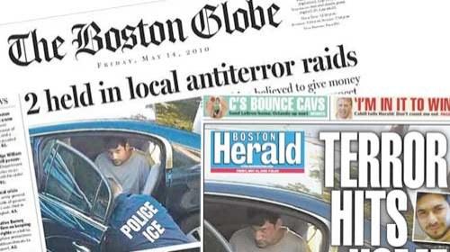 Periodismo ciudadano en las portadas del Globe y el Herald