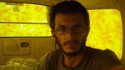 Alberto Arce, un cooperante español informando desde Gaza