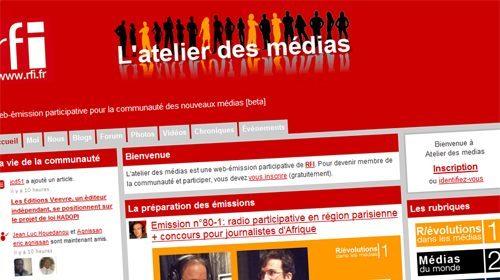 L'Atelier des Médias, un proyecto de periodismo participativo para Africa