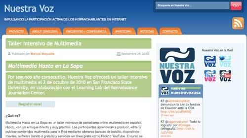 """""""Multimedia Hasta en La Sopa"""": Taller de periodismo multimedia"""