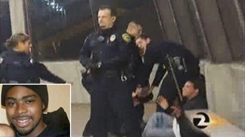 Vídeos ciudadanos muestran a un policía de tránsito disparando a un joven desarmado en Oakland