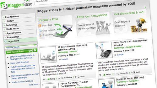 BloggersBase, una comunidad de periodismo ciudadano