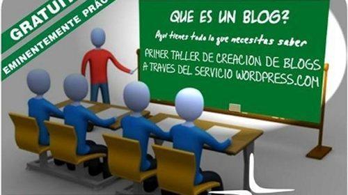 Taller de creación de blogs en Almería