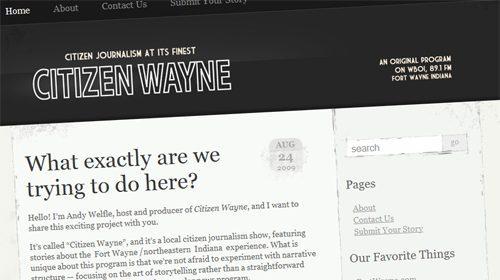 Citizen Wayne, periodismo ciudadano en la Northeast Indiana Public Radio