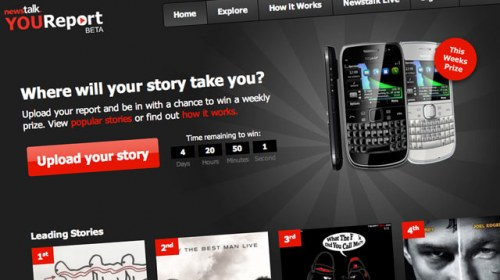 La emisora de radio dublinesa Newstalk lanza una plataforma de periodismo ciudadano