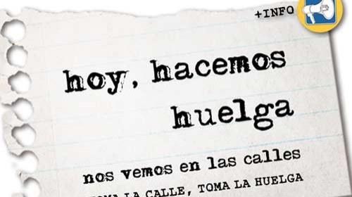 La #HuelgaGeneral en las redes sociales #29M